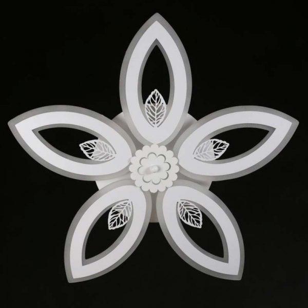 Люстра светодиодная цветок Колеос фото