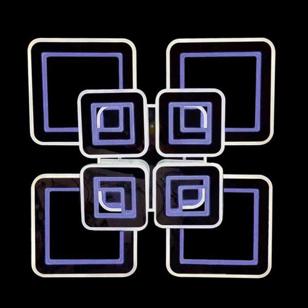 люстра хром квадраты rgb фото