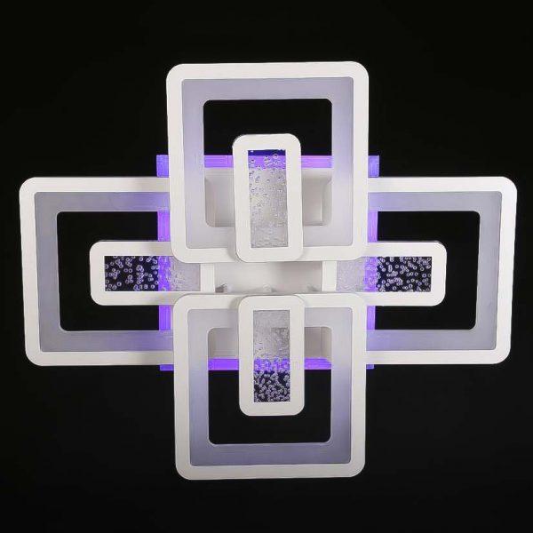 Светилиник диодный квадратный фото