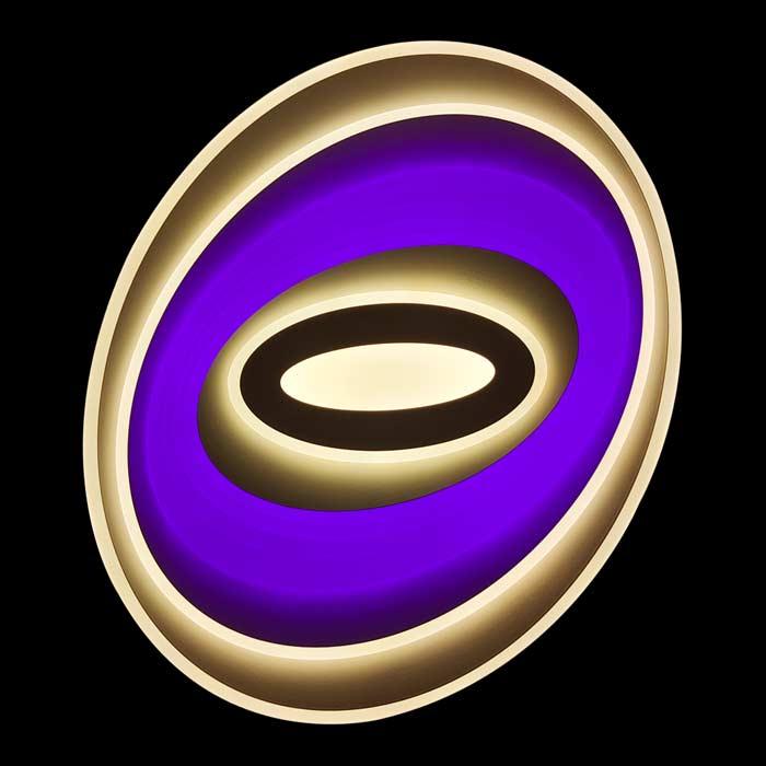 Люстра в форме овала RGB фото