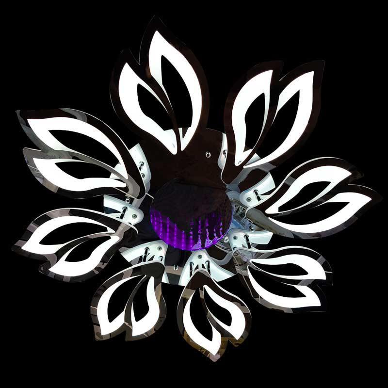 Люстра LED цветок Lantana 3D фото