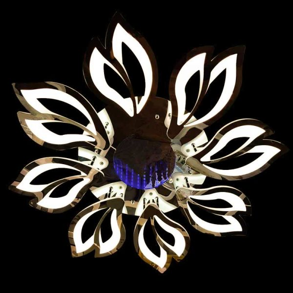 Люстра LED цветок Lantana 3D теплый цвет фото