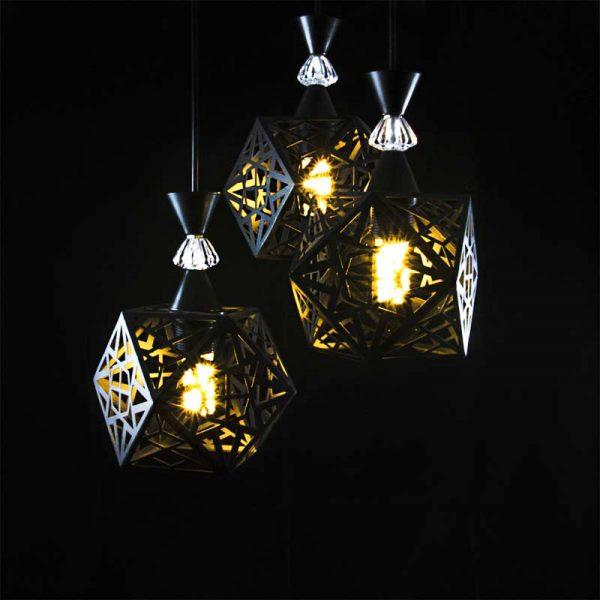 Лофт светильник потолочный 3 лампы фото