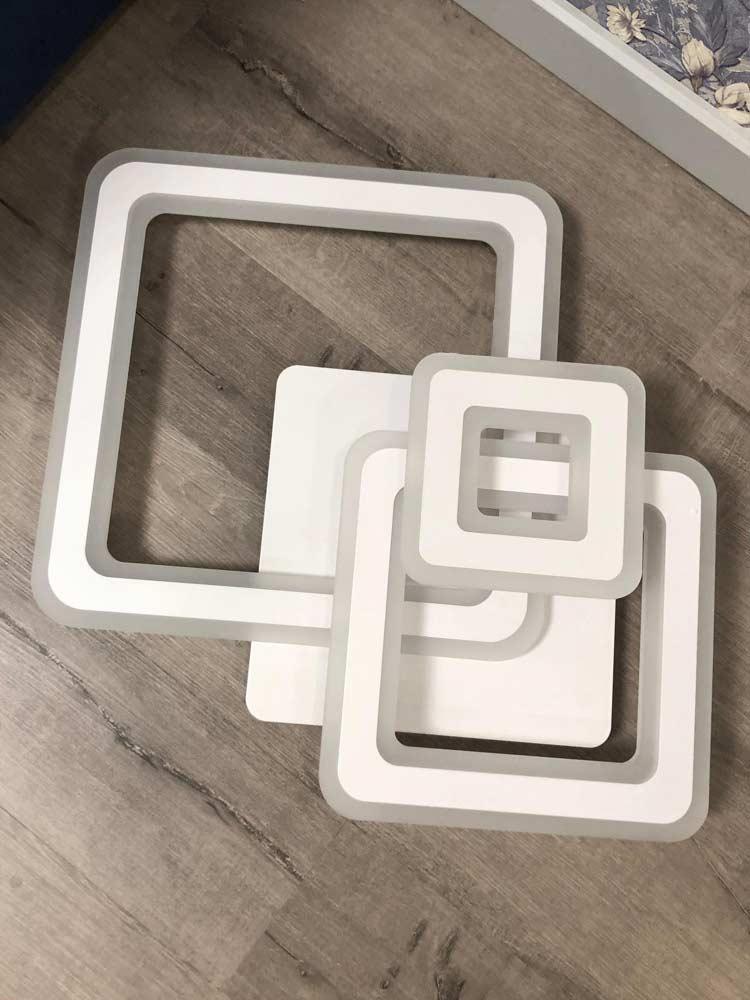 Люстра потолочная trio-squares фото