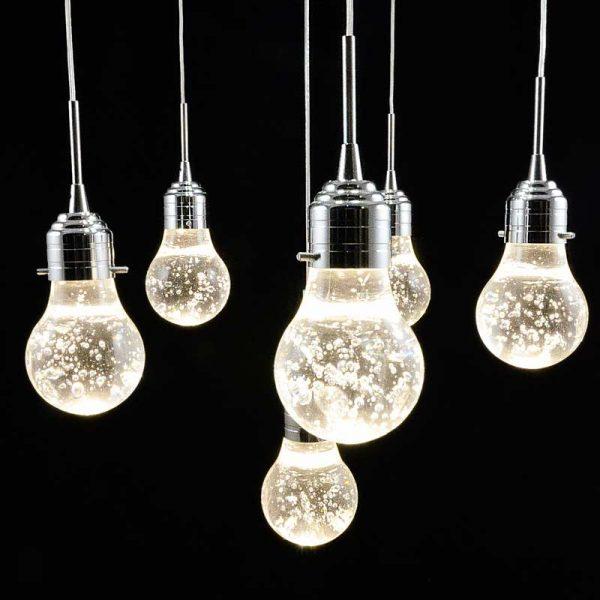 люстра свисающие 6 ламп Bulbs 6 фото