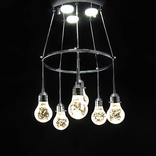 Светильник лед подвесной 6 шесть лампочек фото