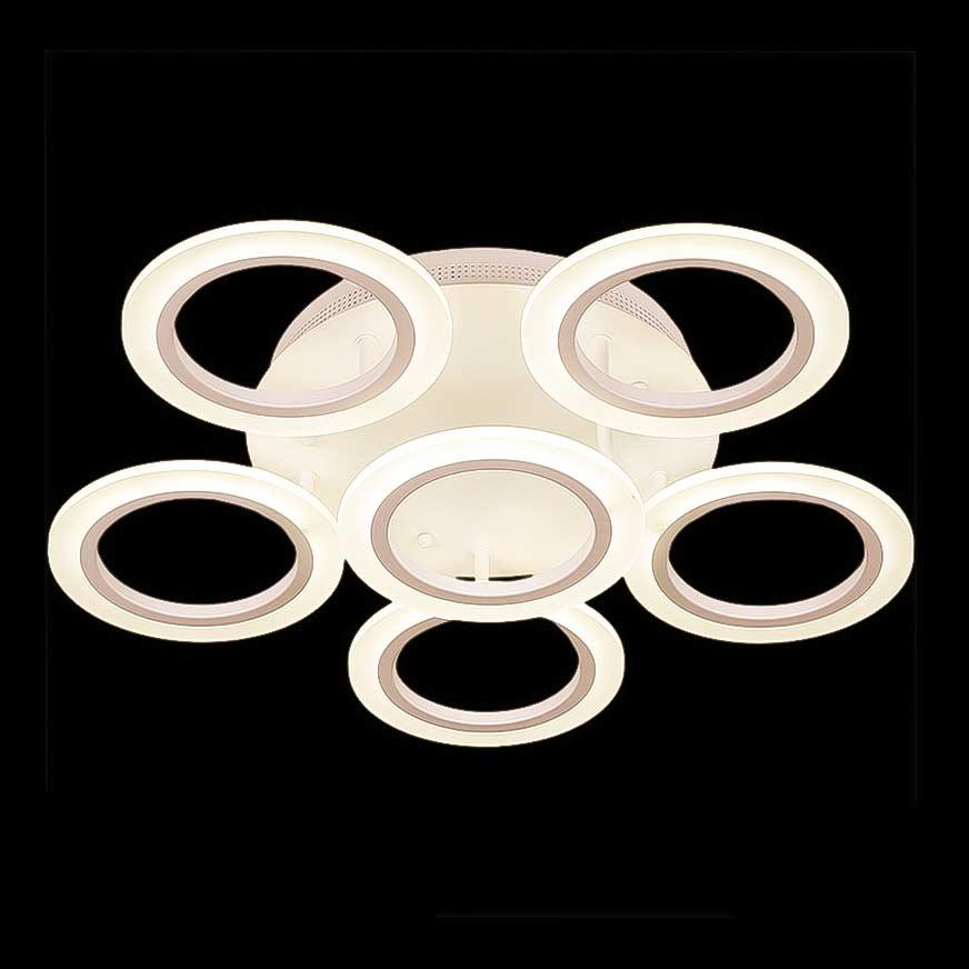 светильник светодиодный в форме 5 кругов фото