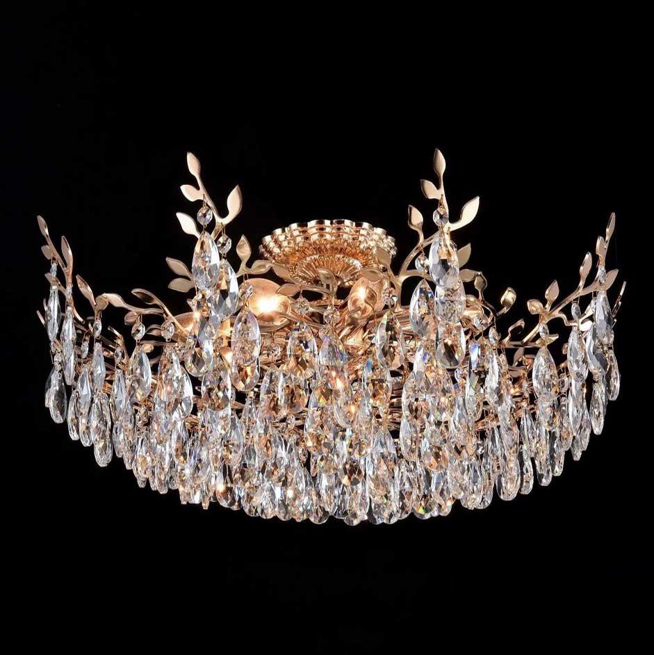 Светильник веточки и хрусталь Luce Veneto фото