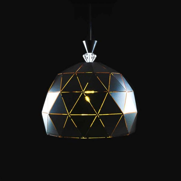 Лампа подвесная лофт треугольники Soft фото