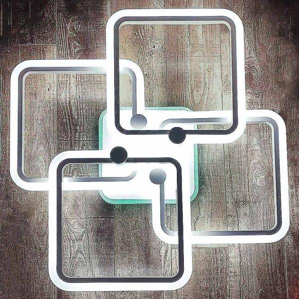 люстра 4 квадрата new-vertex фото