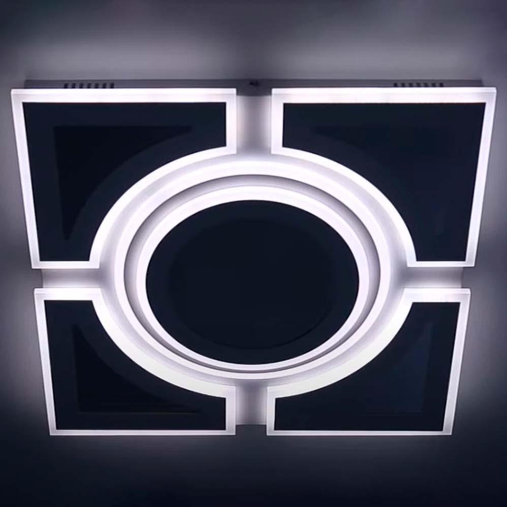 Люстра квадрат 3D эффект Illusion фото