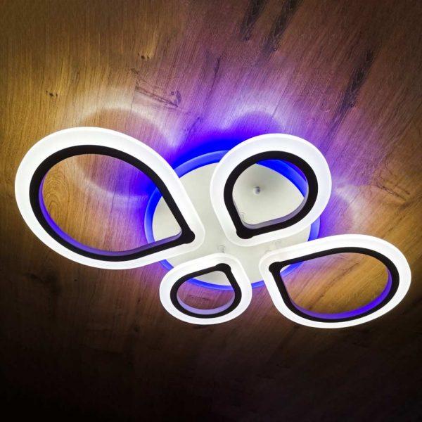 Люстра диодная капли Drops RGB 4 фото