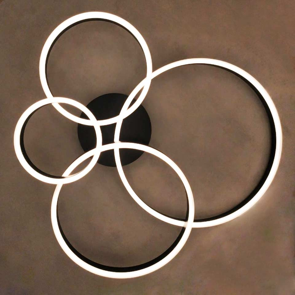 люстра Smooth Rings 4 фото