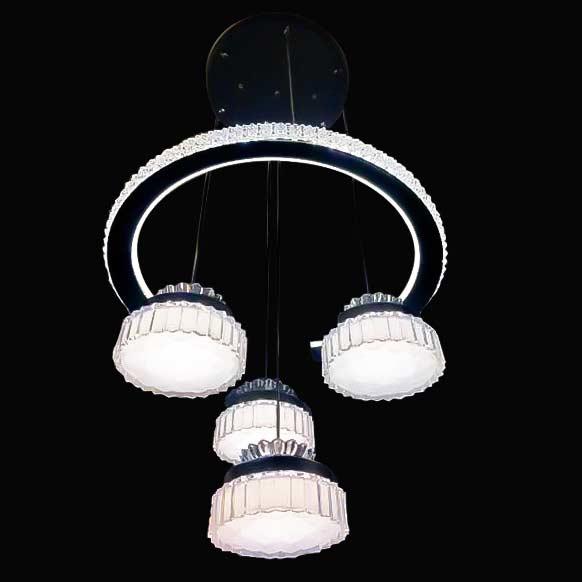 Люстра светодиодная на подвесе Thrum фото
