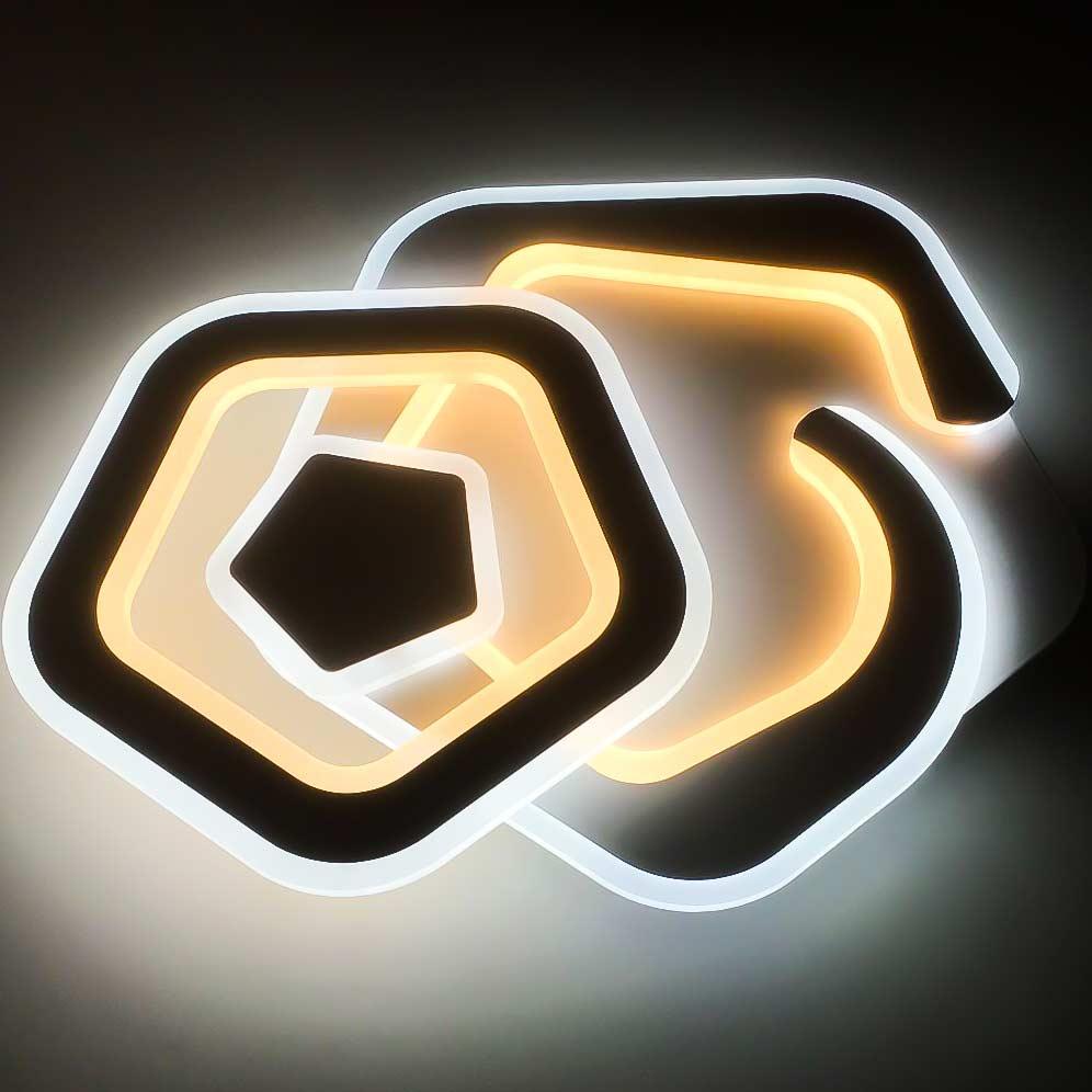 Потолочная светодиодная люстра Slopes фото