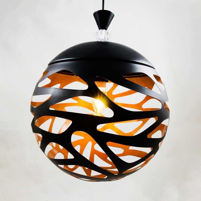 Светильник шар на подвесе фото