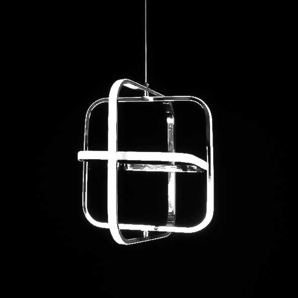 Светодиодная люстра подвесная Cage фото