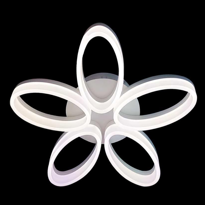 Светодиодная люстра с пультом меняющая цвет Fortune фото
