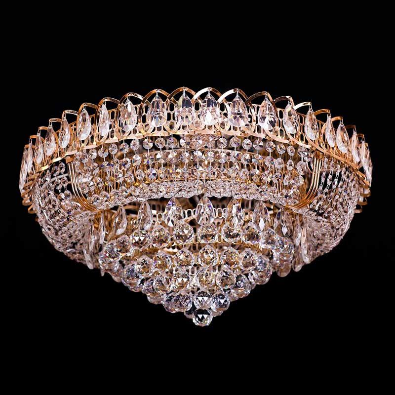 Хрустальная люстра кпуглая La Royal фото