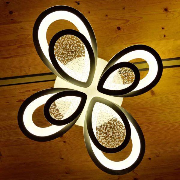 люстра потолочная цветочные лепестки FloatFlames фото