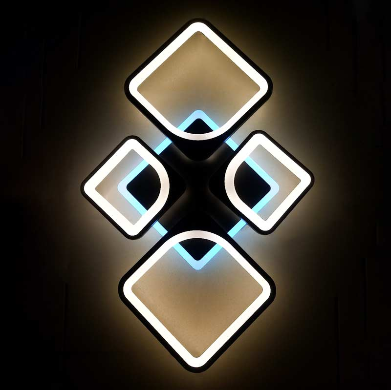 Люстра потолочная RGB фото
