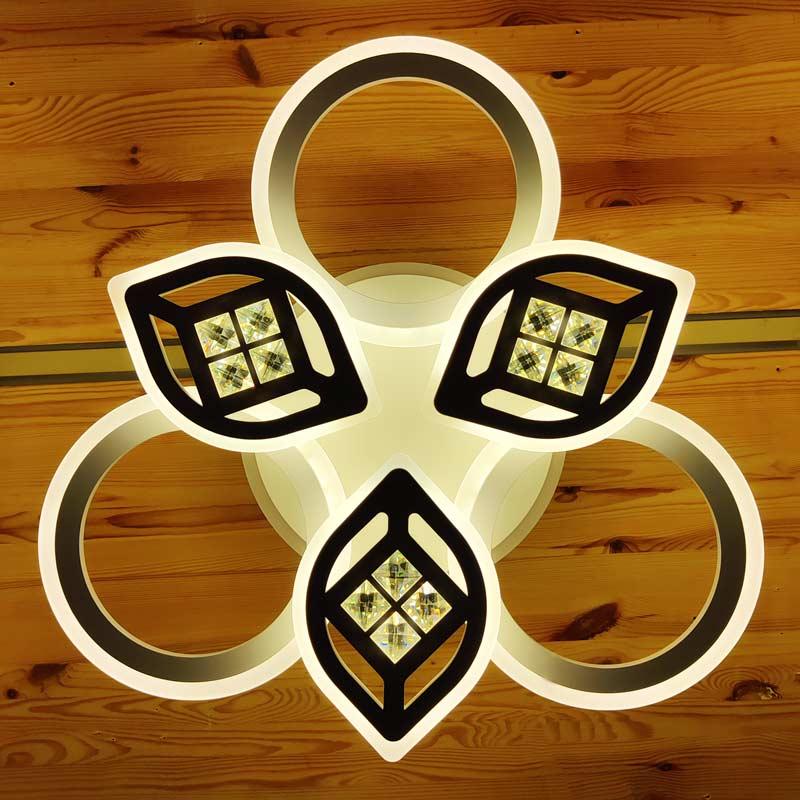 Потолочный LED светильник - цветок фото