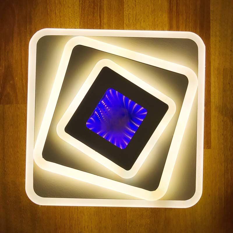 настенный светильник квадратный фото