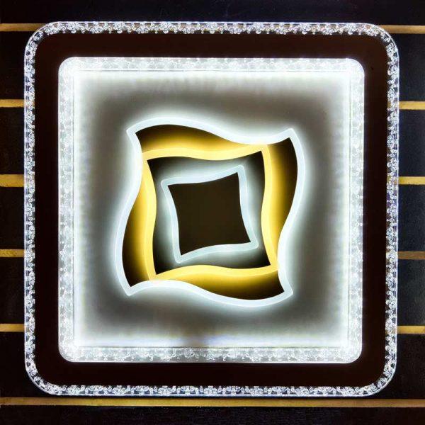 потолочный плоский квадратный светильник Gigaset фото