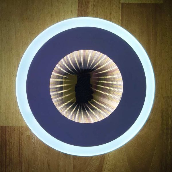 светодиодный настенный бра круглый Around 3D фото