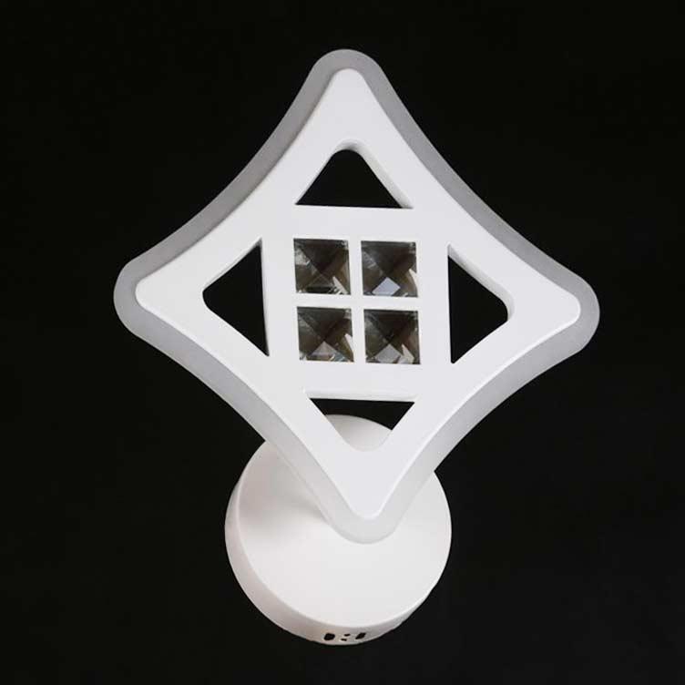 Бра LED Cross квадратный фото