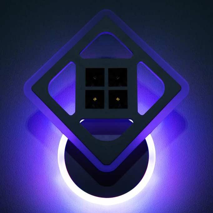 Лед бра romby-Prime с RGB белый фото