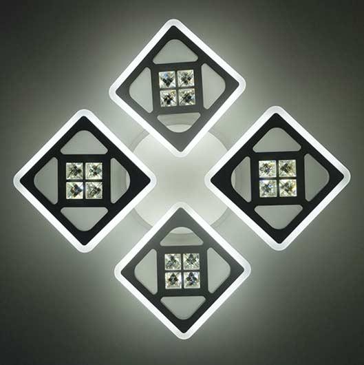 Люстра 4 четыре квадрата XT фото