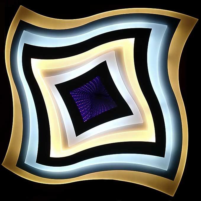 Люстра geometriya-3d фото
