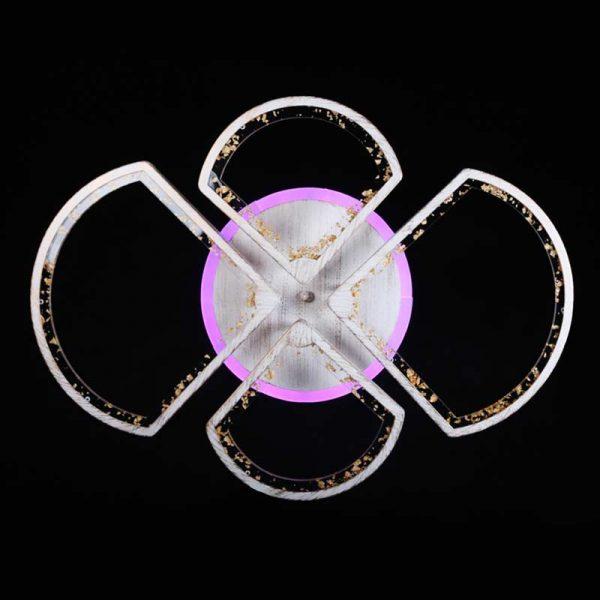 Люстра светодиодная с пду Geometry Pointer Patina фото