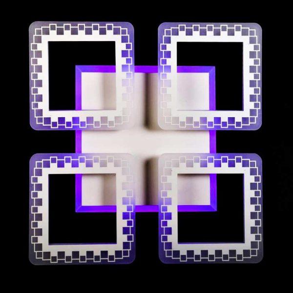светильник 4 квадрата RGB 4Colours фото