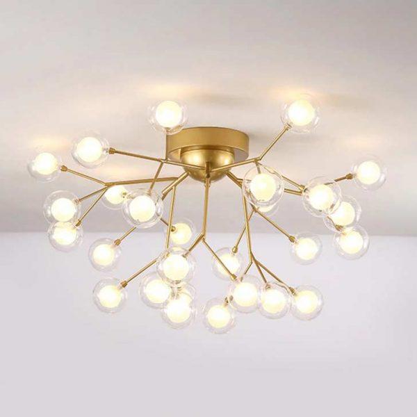 Люстра bulbs цвет золото фото