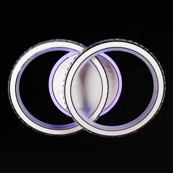 Люстра светодиодная 2 круга 2Circle фото