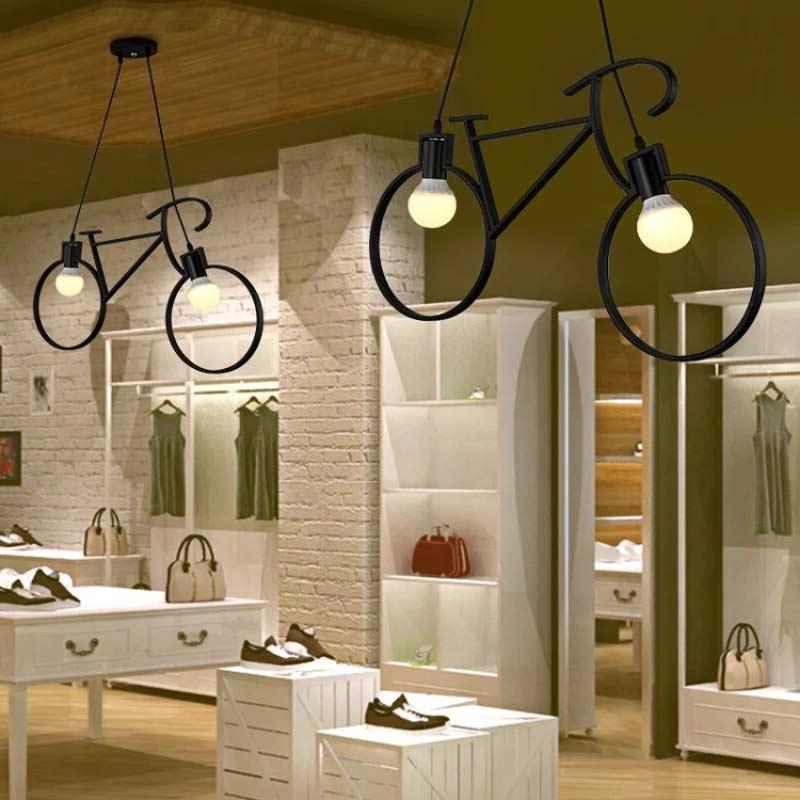 Светильник Bike черный - 3 фото
