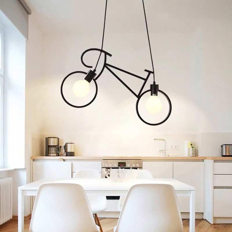 Светильник Bike черный фото