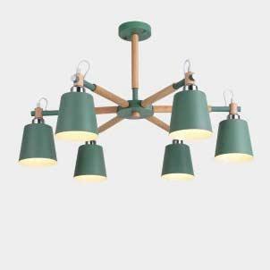 Светильник caps зеленый цвет фото