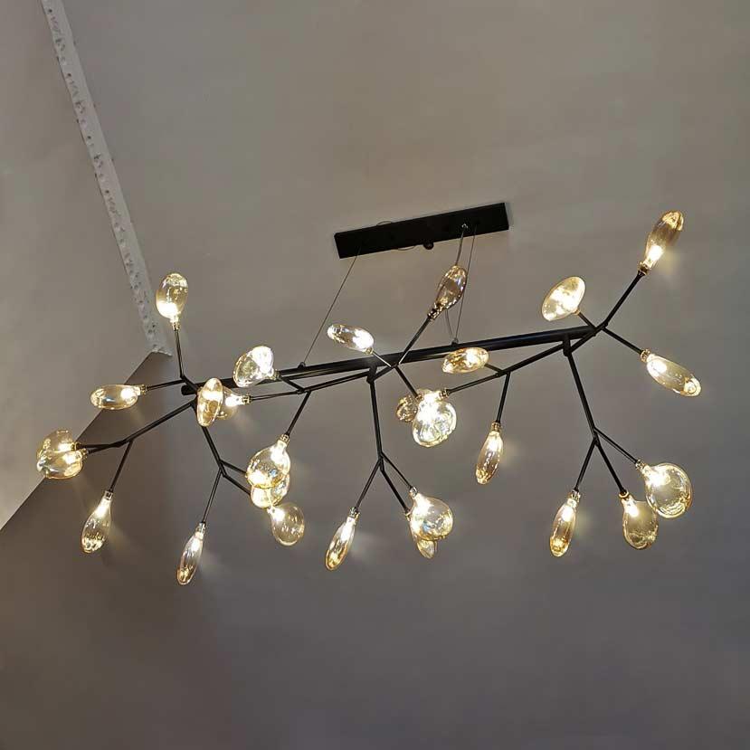 Светильник nordik-tree плафоны золото фото