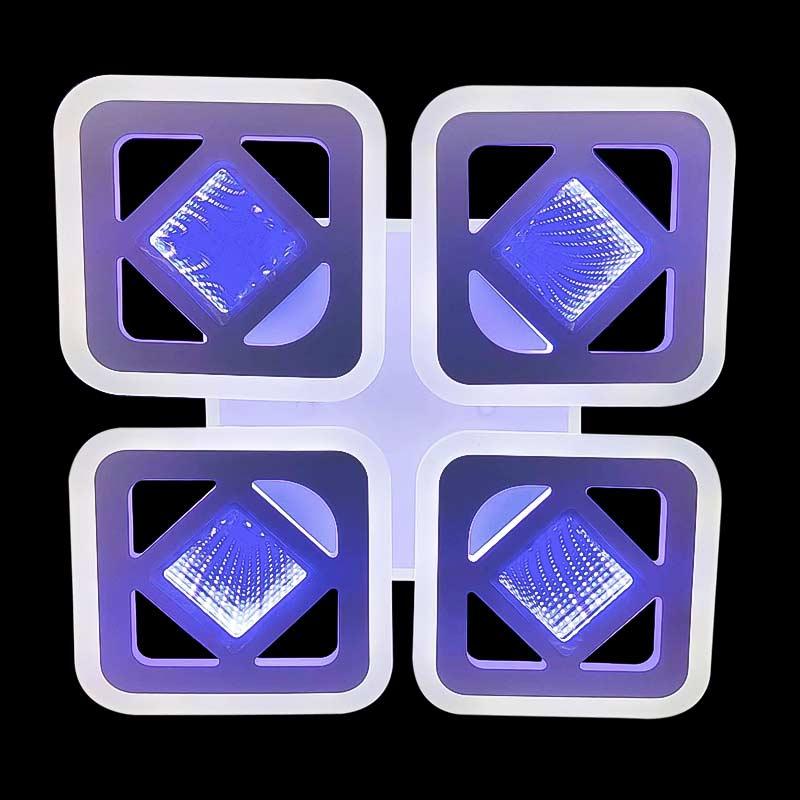 4 квадрата люстра squares-4d фото