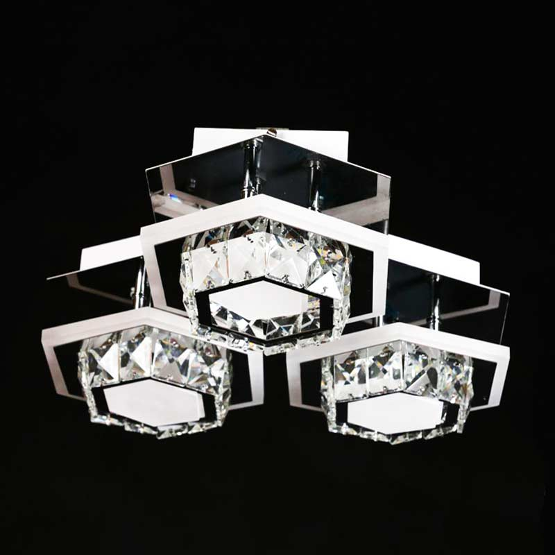 Люстра crystal-geometry-3 фото