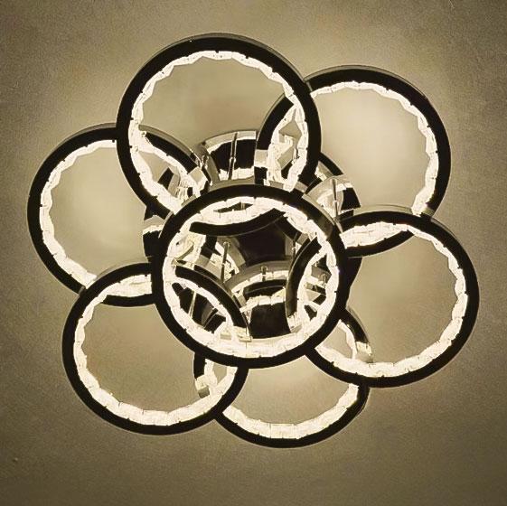 Потолочная хрустальный светильник SevenRounds фото