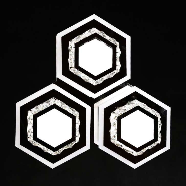 LED светильник хрусталь Crystal Geometry 3 фото