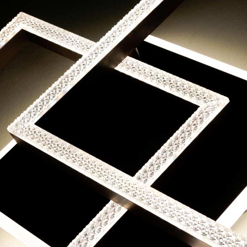 Люстра диодная crosses quad фото