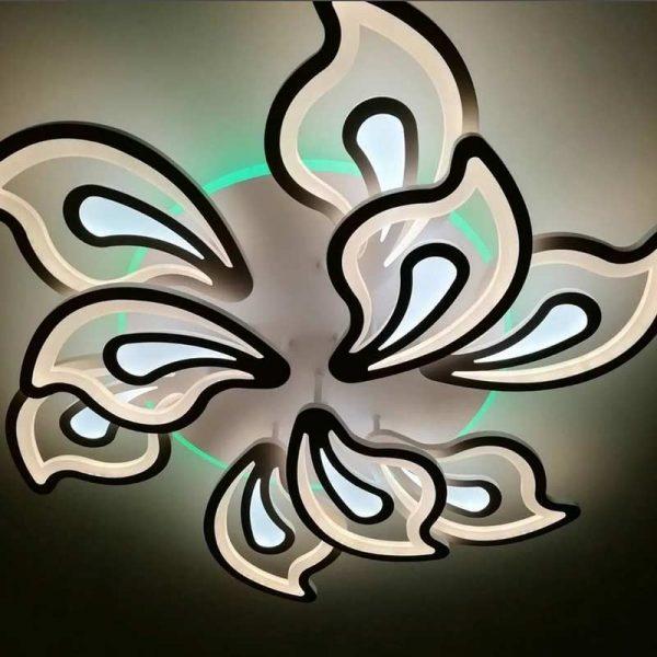 Люстра pretty-flowers 9 лепестков фото