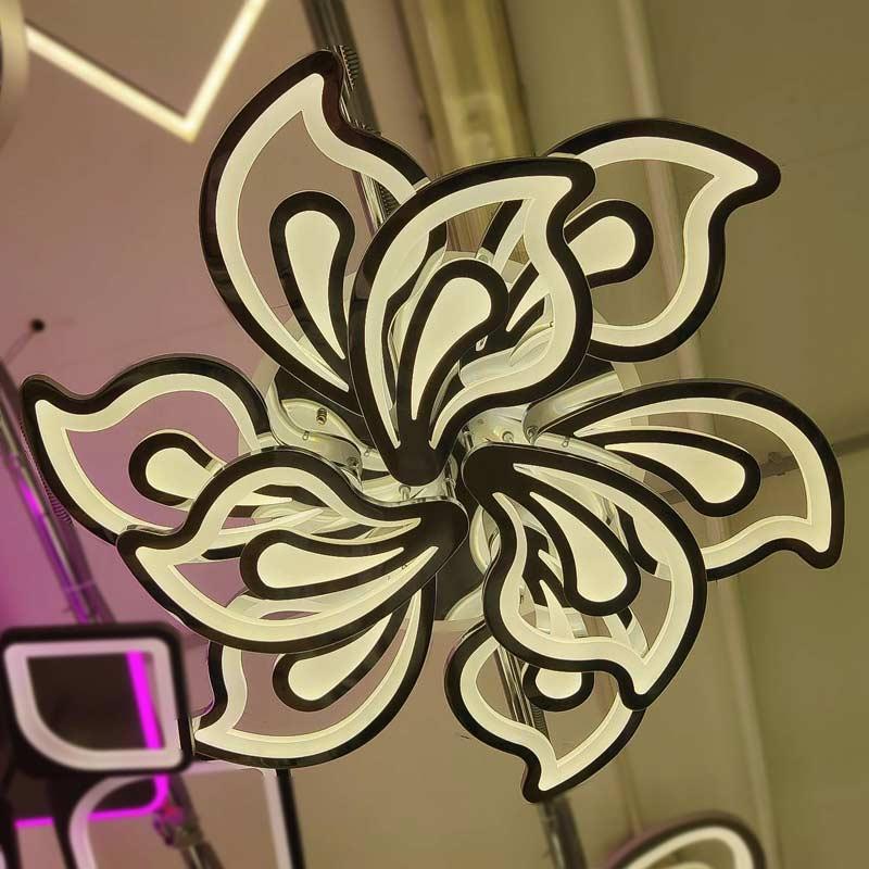 Люстра pretty-flowers-9-хром фото