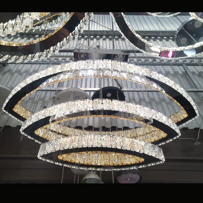 Светильник подвесной crystal-boads фото