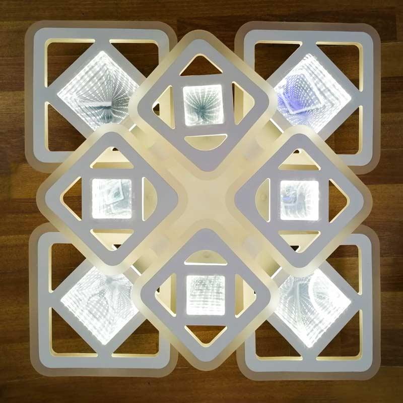 8 квадратов squares-4d режим ночника фото